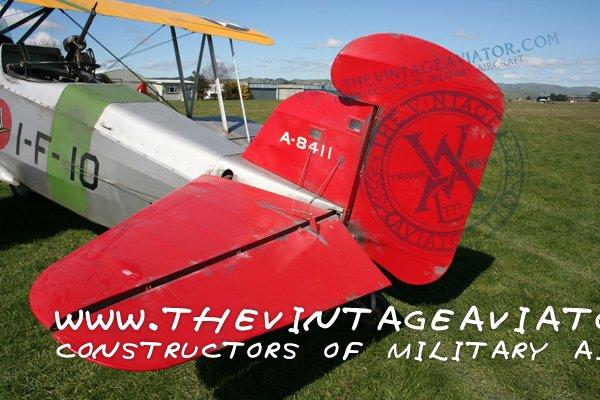 Tailplane - Curtiss F8C Helldiver