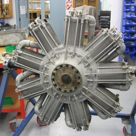 Bently BR 2 Engine Build