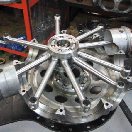 Clerget 9 B Engine Build 14
