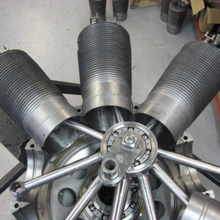 Clerget 9 B Engine Build 17