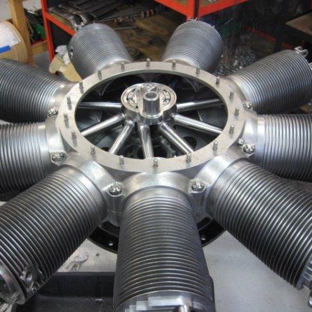 Clerget 9 B Engine Build 23