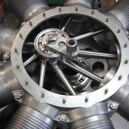 Clerget 9 B Engine Build 24