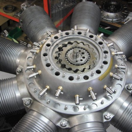 Clerget 9 B Engine Build 30