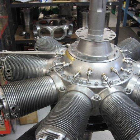 Clerget 9 B Engine Build 32
