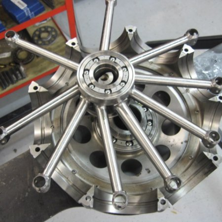 Clerget 9 B Engine Build 8