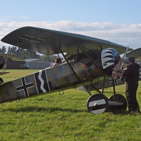 James Fahey Fokker DVIII Walkaround 1
