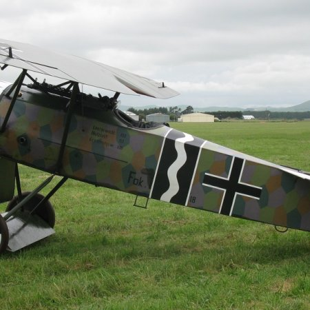 James Fahey Fokker DVIII Walkaround 11