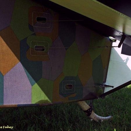 James Fahey Fokker DVIII Walkaround 40