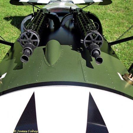 James Fahey Fokker DVIII Walkaround 54