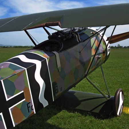 James Fahey Fokker DVIII Walkaround 67