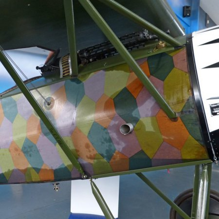 James Fahey Fokker DVIII Walkaround 69