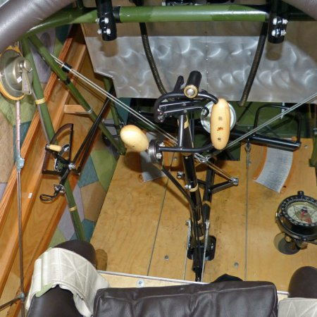 James Fahey Fokker DVIII Walkaround 77