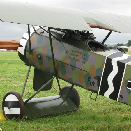 James Fahey Fokker DVIII Walkaround 8