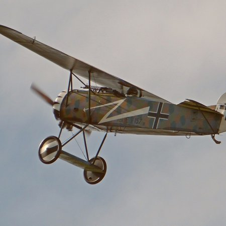 James Fahey Fokker DVIII Walkaround 82