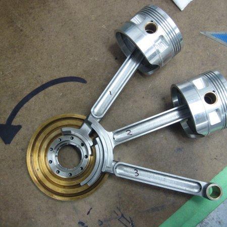 Le Rh Ne 9 J Engine Build 29