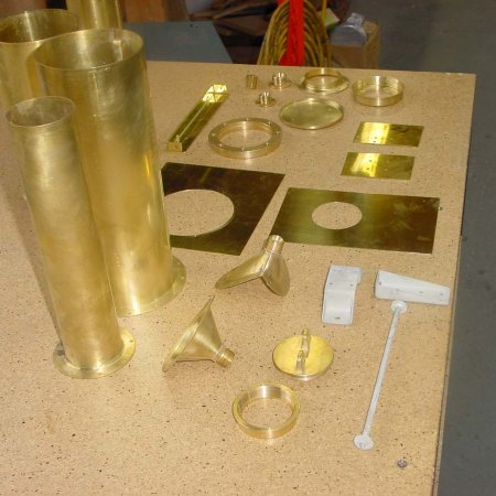 A Sampling Of Fuel Tank Parts