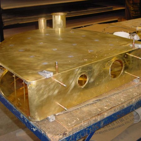 Fabrication Of Brass Main Fuel Tank