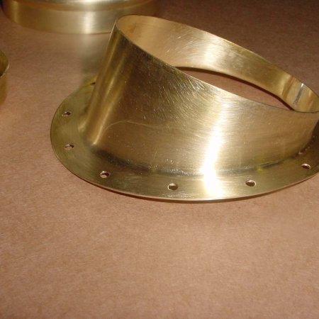 Formed Brass Fuel Tank Flange