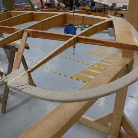 Wing Ready For Fabricing
