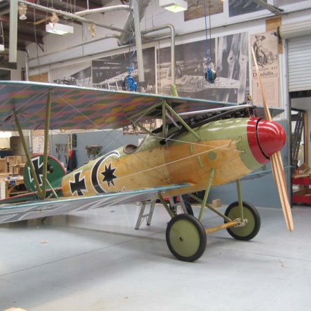 Completed Albatros DVa