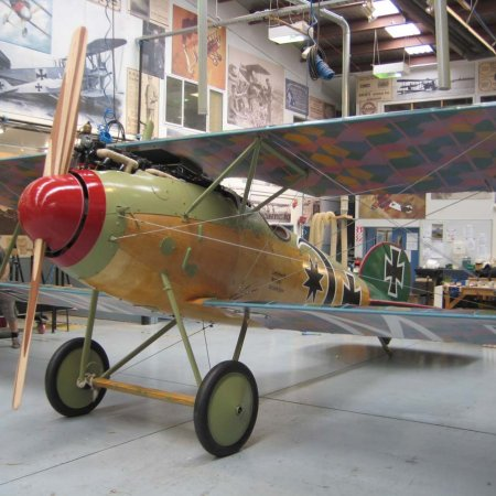 A Very Colorful Great War Aeroplane