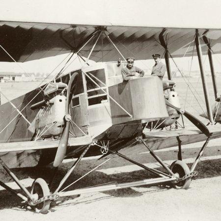 027 German Four Motor Bomber