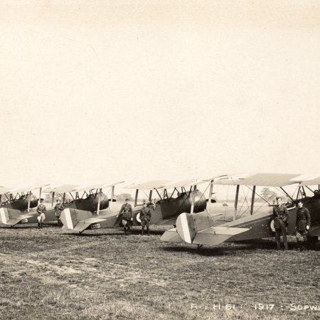 171 Lineup Of Sopwith Strutter Fighters 1917
