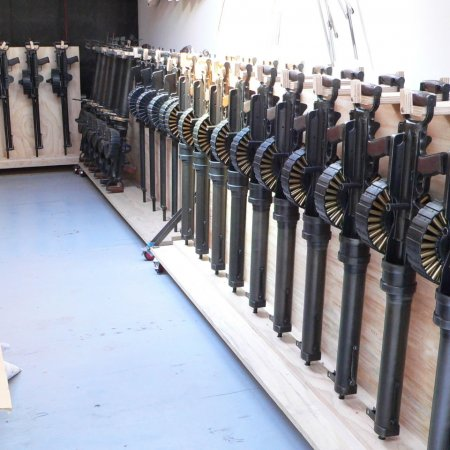 Gun Room Lewis Guns Rack
