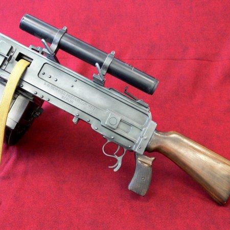 Parabellum Gun Facing Left