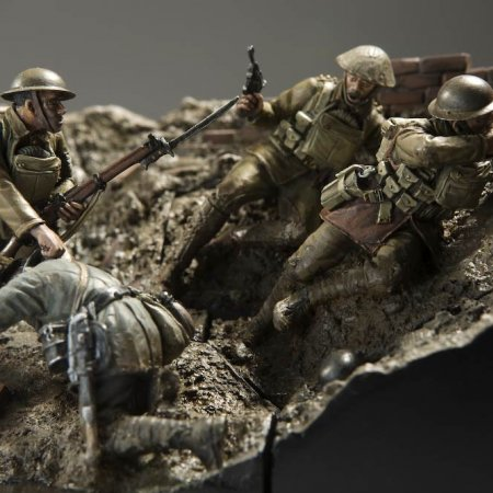 Models Soldier Diorama Preview