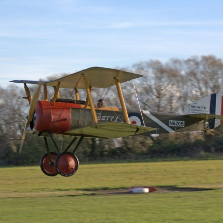 Sopwith Pup 1 St Flight