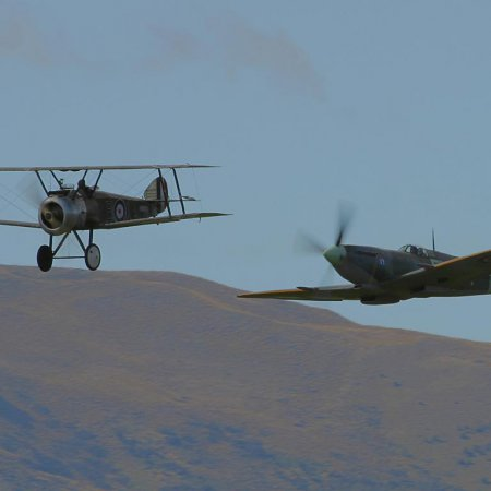 Wanaka 2004 Camel And Spitfire 1