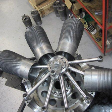 Clerget 9 B Engine Build 16