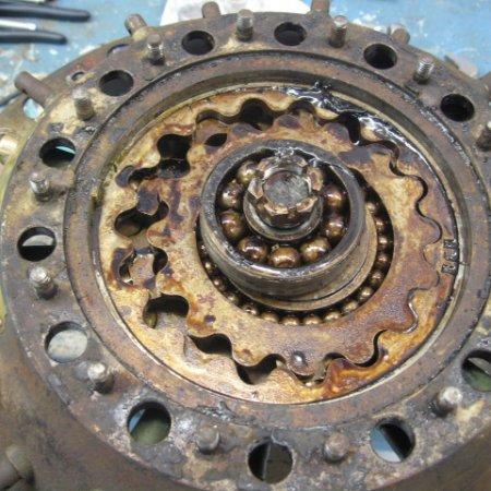 Clerget 9 B Engine Strip Down 10