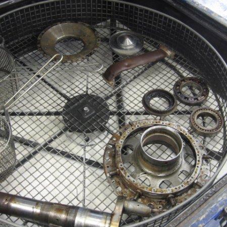 Clerget 9 B Engine Strip Down 15