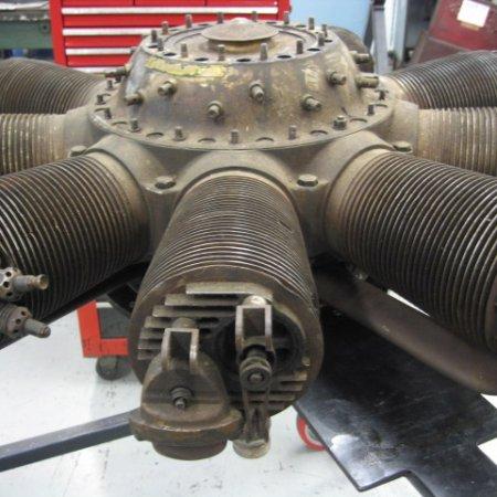 Clerget 9 B Engine Strip Down 2