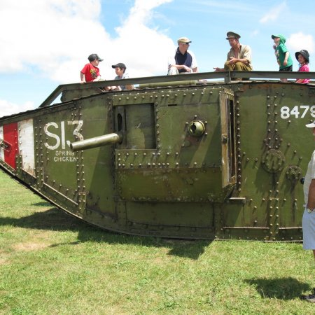 James Fahey RD 10 WWI Tank 2