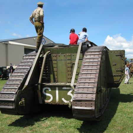 James Fahey RD 10 WWI Tank