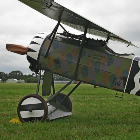 James Fahey Fokker DVIII Walkaround 12