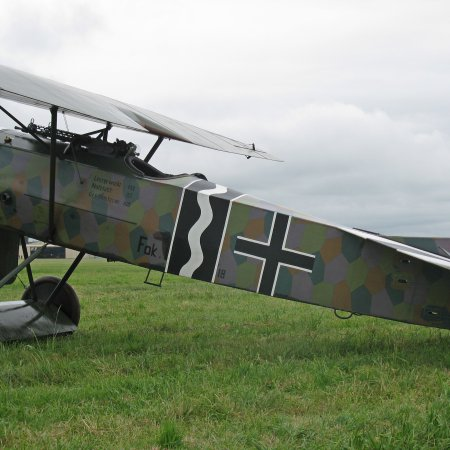 James Fahey Fokker DVIII Walkaround 14