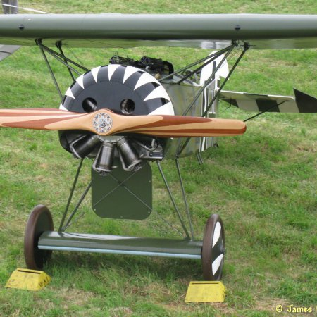 James Fahey Fokker DVIII Walkaround 17