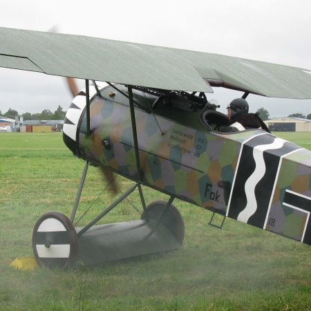 James Fahey Fokker DVIII Walkaround 19