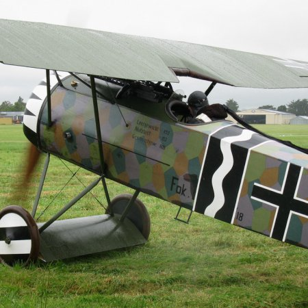 James Fahey Fokker DVIII Walkaround 20
