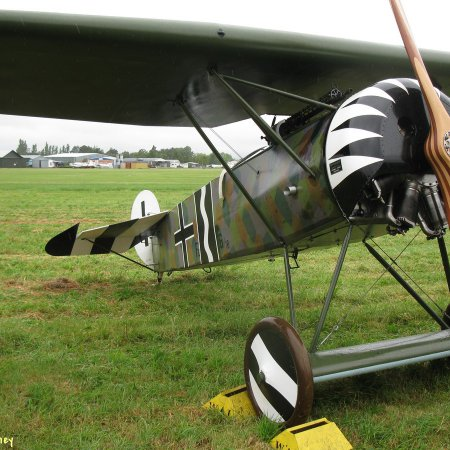 James Fahey Fokker DVIII Walkaround 23