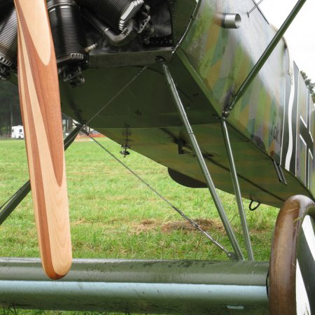 James Fahey Fokker DVIII Walkaround 25