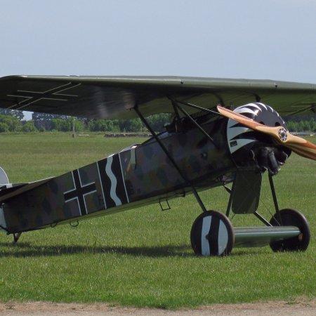 James Fahey Fokker DVIII Walkaround 63