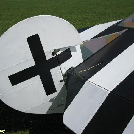 James Fahey Fokker DVIII Walkaround 65