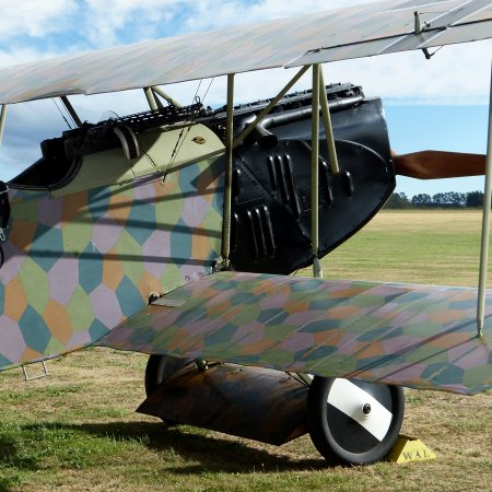 James Fahey Fokker DVII Walkaround 1