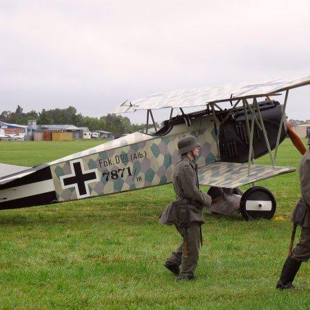 James Fahey Fokker DVII Walkaround