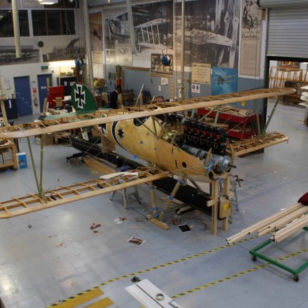 Final Test Rigging Prior To Covering Wings